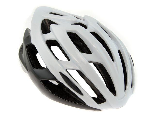 AGU Strato cykelhjelm hvid/sort