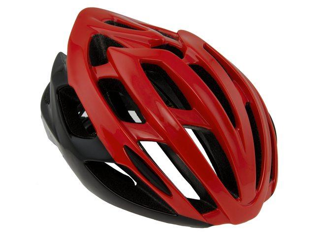 AGU Strato cykelhjelm rød/sort