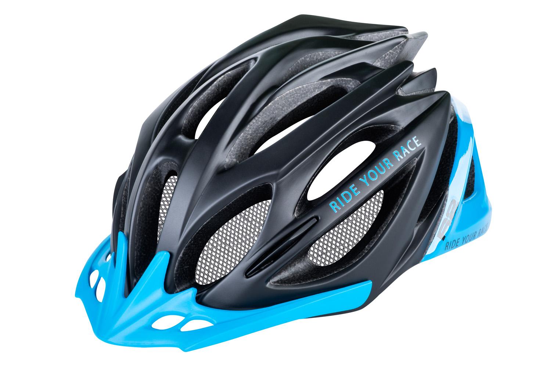 R2 Pro-Tec Cykelhjelm Sort/Blå