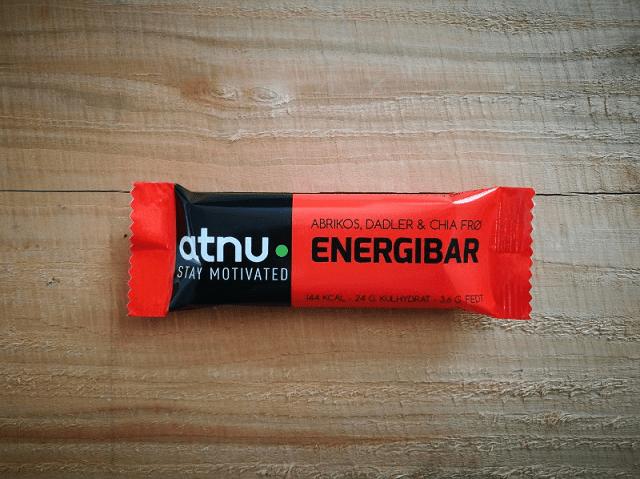 ATNU energibar abrikos, dadler og chiafrø | Energy bar