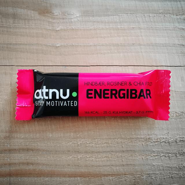 ATNU energibar hindbær, rosiner og chiafrø | Energy bar