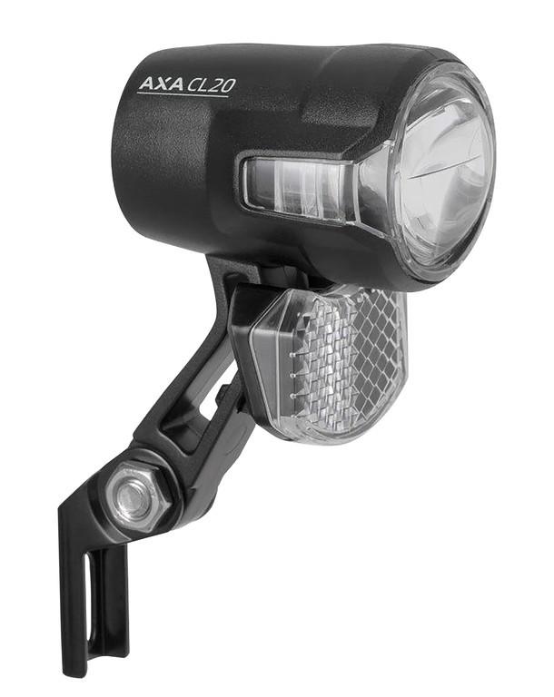 AXA Compactline 20 Forlygte til El-cykel   Lygtesæt