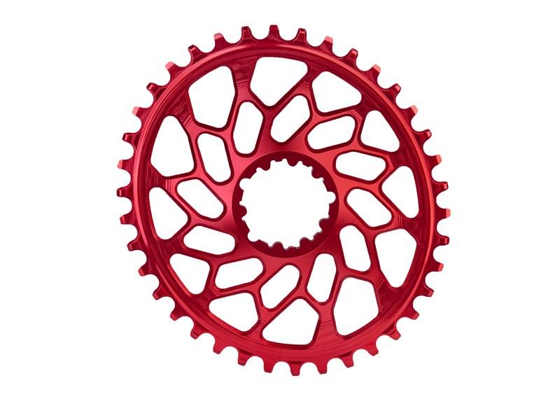Absolute Black CX klinge BB30 direkte montering rød | chainrings_component