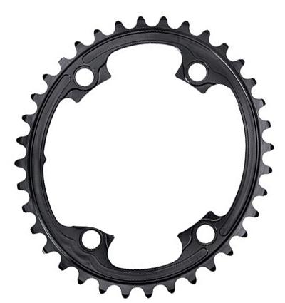 Absolute Black lille oval klinge til Shimano R9100/R8000 | Klinger