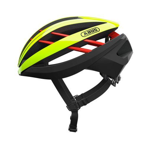 Abus Aventor neon/sort cykelhjelm | Helmets