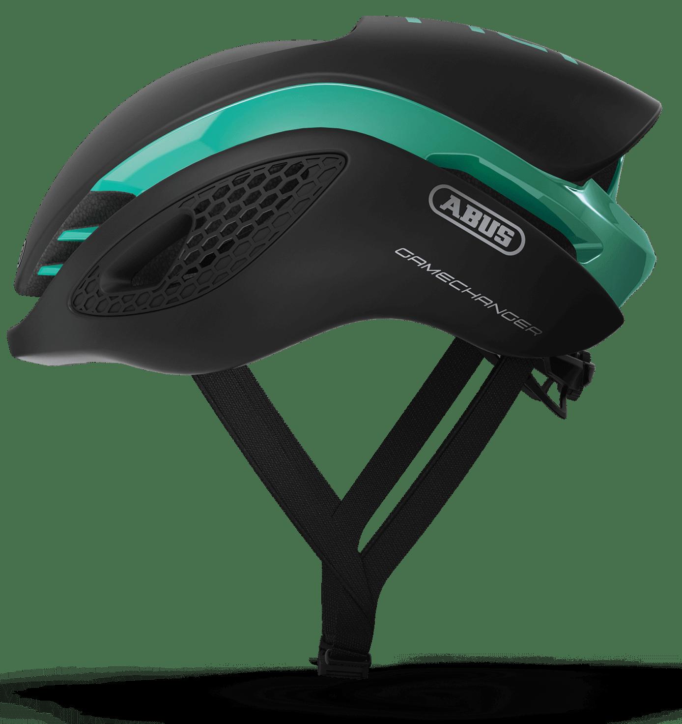 Abus Game changer hjelm sort/celeste | Helmets
