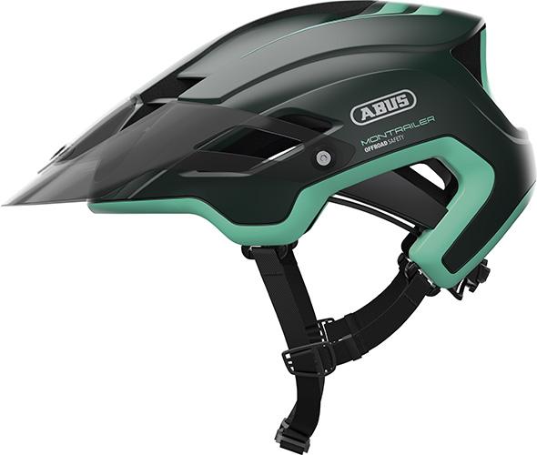 Abus Montrailer Smaragd Green   Hjelme