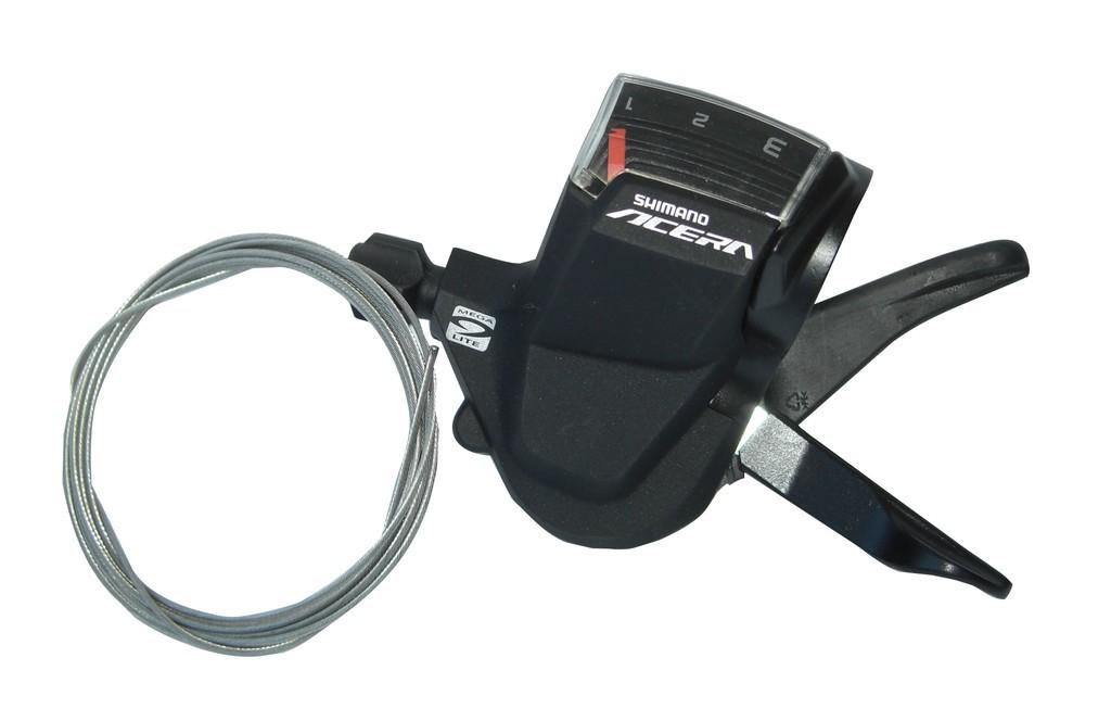 Shimano Acera skiftegreb Acera venstre 3 speed Rapidfire+ | Gear levers