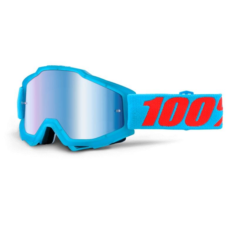 100% Accuri MTB/Downhill Brille Acidulous Cyan | Briller