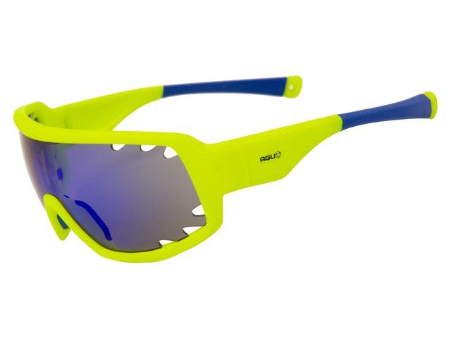 Agu Soar cykelbriller gul