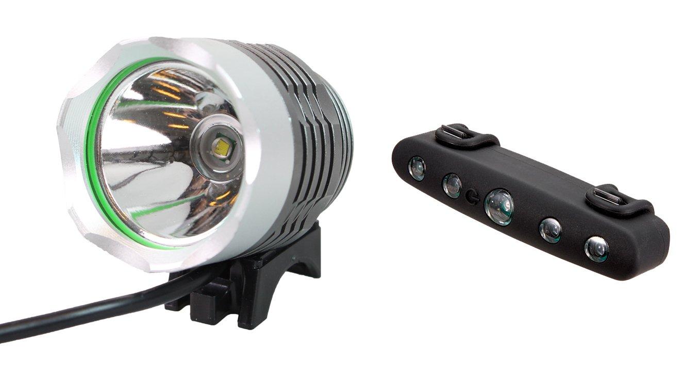 Angry Light 1800 lumen forlygte og Mixbike baglygte