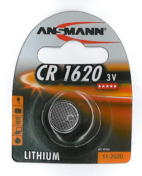 Ansmann CR1620 Batteri | Batterier og opladere