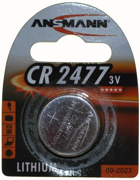 Ansmann CR2477 batteri - 49,00 | Computer Battery and Charger