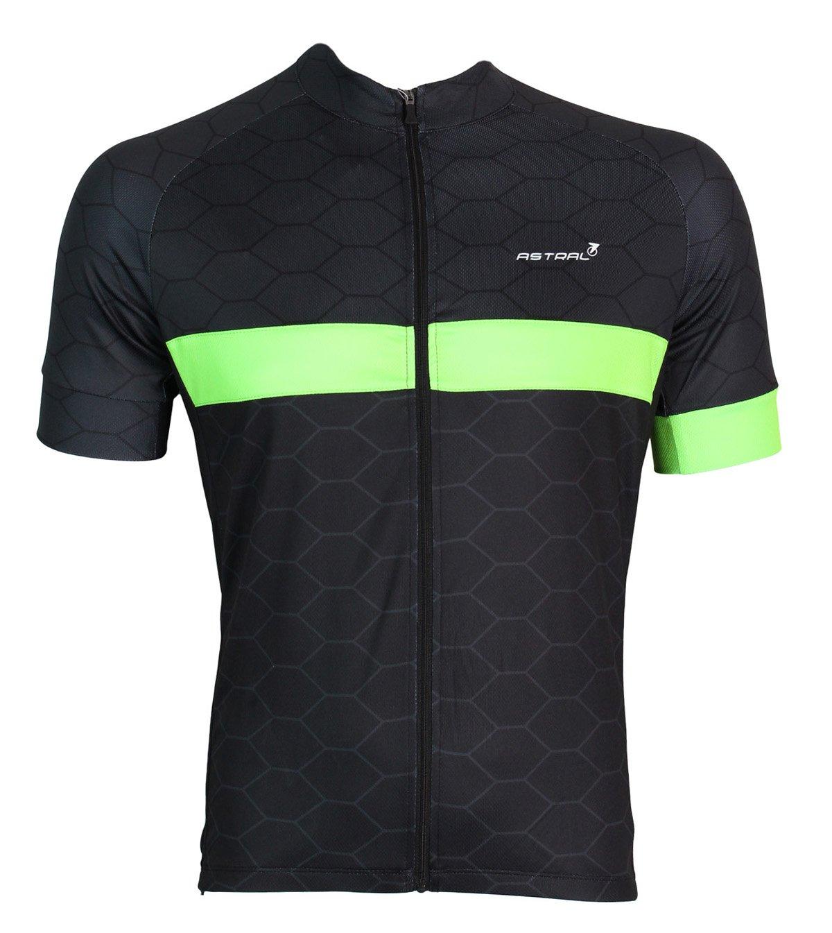 Astral Vuelta jersey sort/grøn