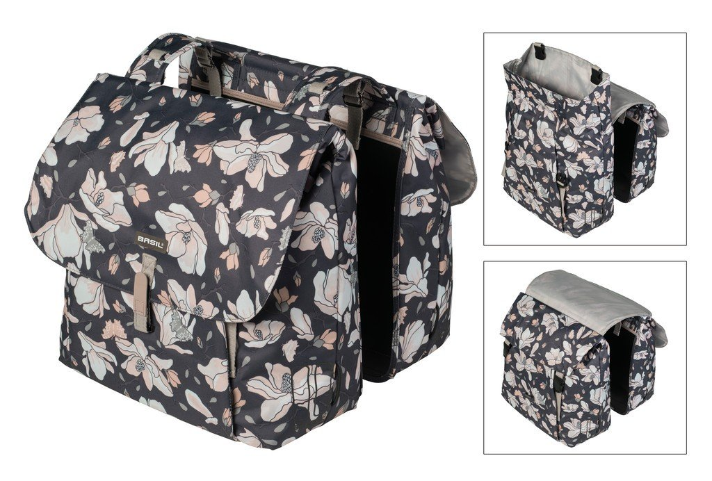 BASIL MAGNOLIA Dobbelt cykeltaske 35L | Travel bags