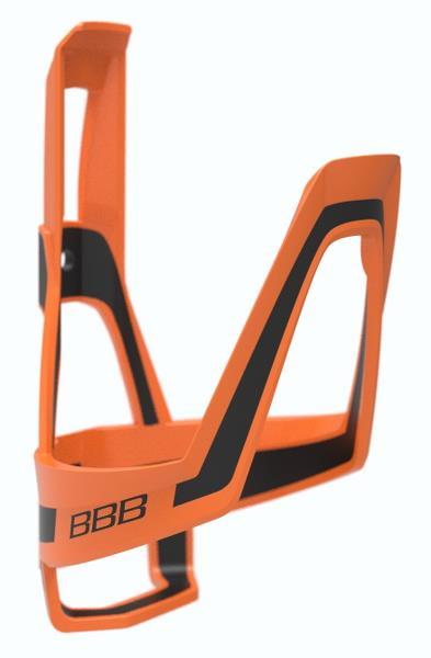 BBB DualCage Orange/sort | Bottle cages