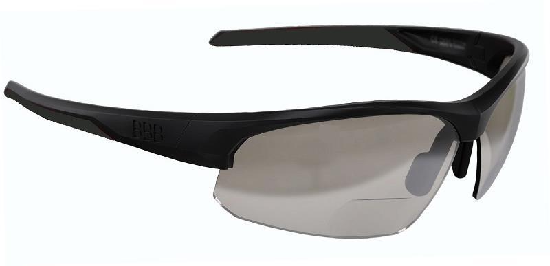 BBB Impress Reader Cykelbrille sort med styrke +2.5 | Briller