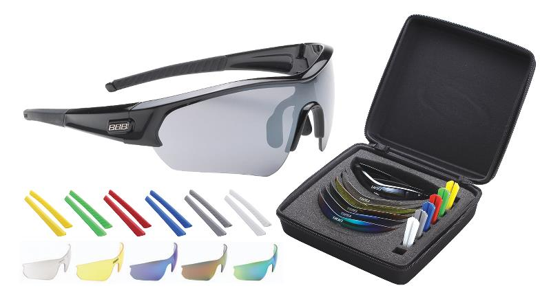 BBB solbrille Select box sort 6 glas 7 gummi | Briller