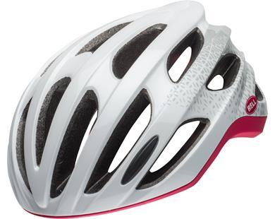 Bell Nala MIPS dame cykelhjelm - White/Cherry 51-55 cm. | Helmets