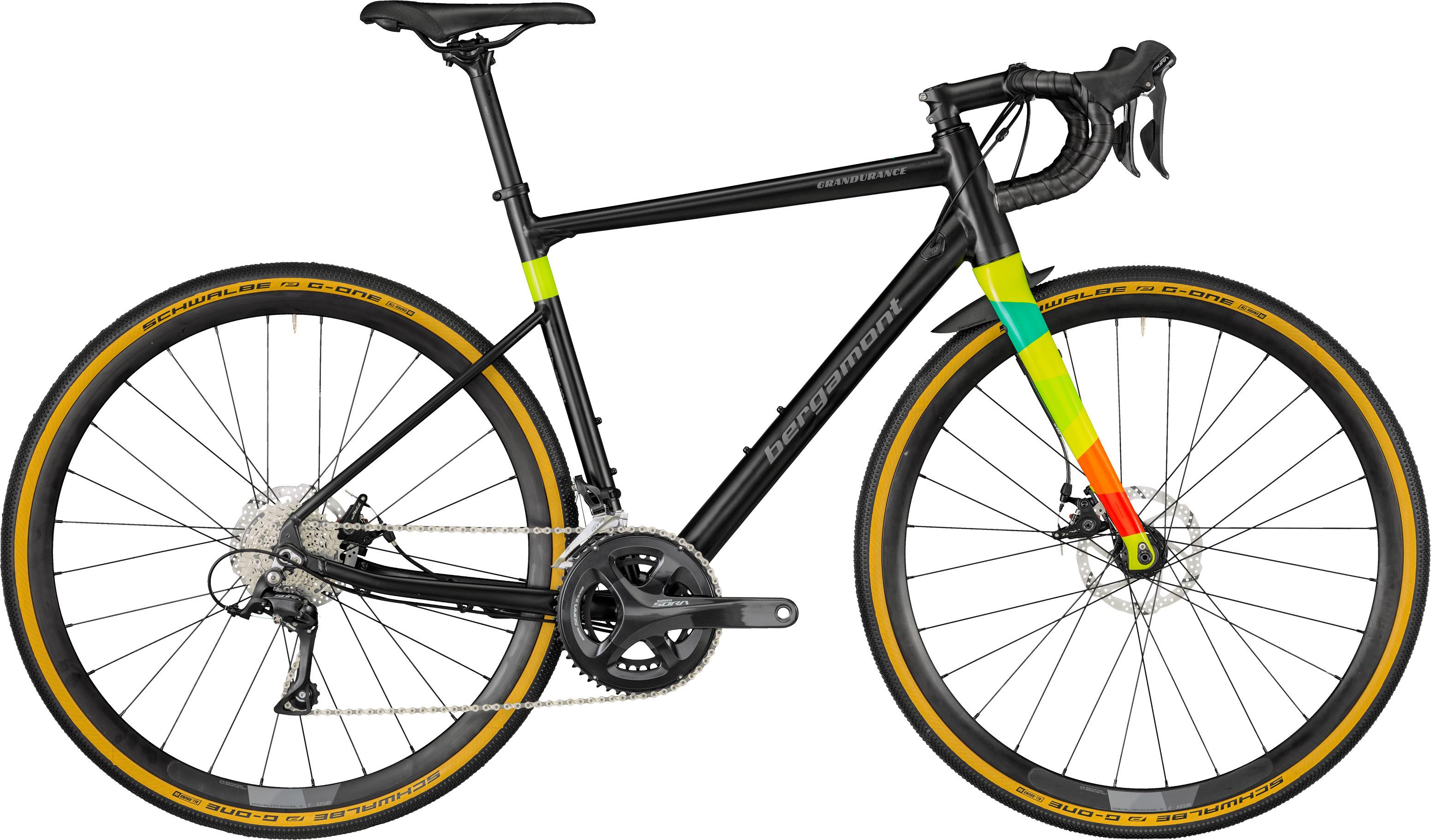 Bergamont Grandurance 5.0, 28, 18gear, sort/multifarvet