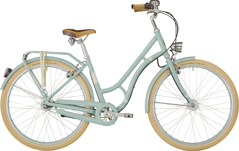 Bergamont Summerville CB, Shimano Nexus 7, lyseblå/creme | City-cykler