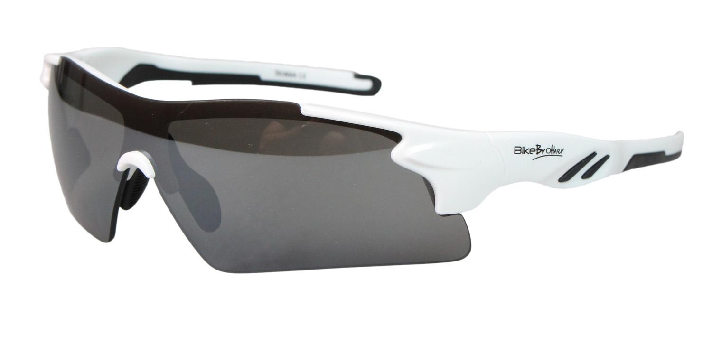 BikeBrother Cykelbriller Hvid