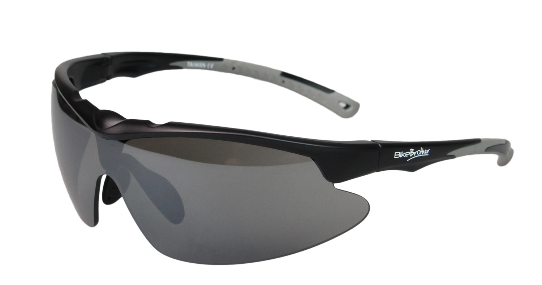 BikeBrother Cykelbriller Sort/Grå