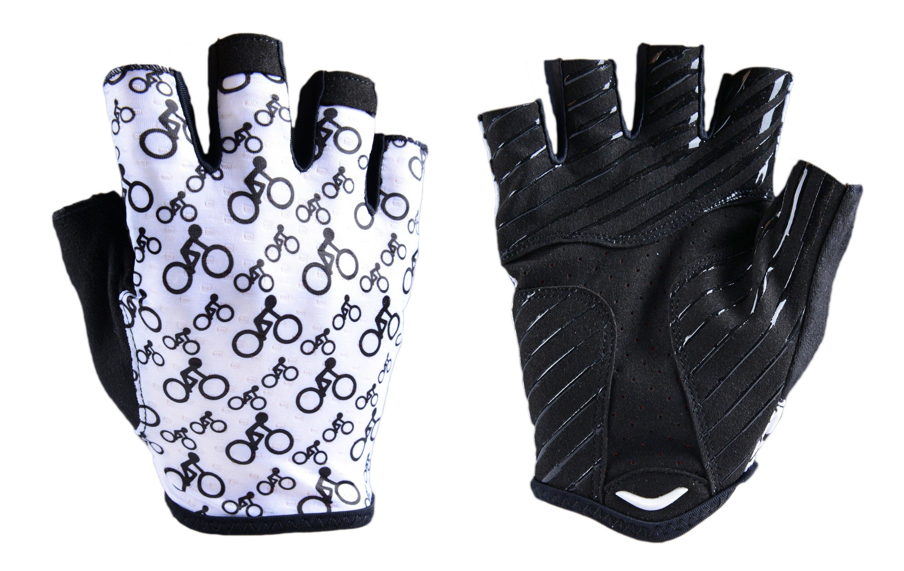 BikeBrother Team Black and White handsker | Handsker