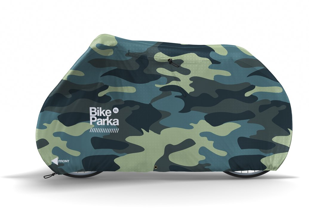 Bike Parka XL Regncover til cykel Camo 225x140x100 cm | Jakker