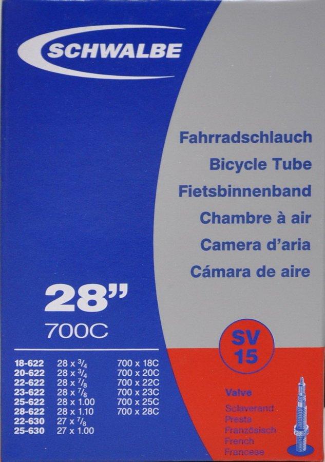 Slange 700x18-28 50 mm ventil Schwalbe | Slanger