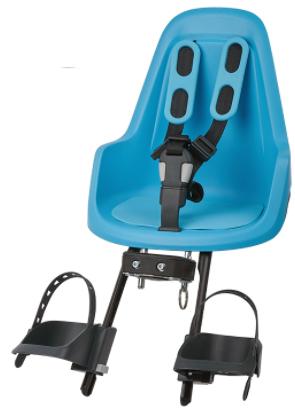 Bobike One Mini Plus forstol med universalbeslag og regnslag blå