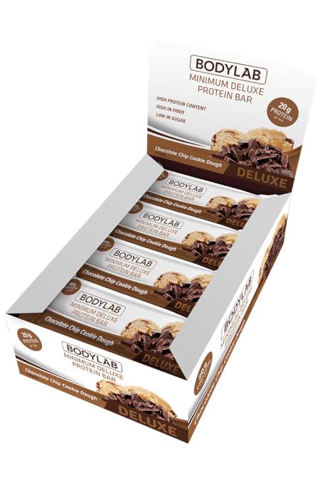 Bodylab Minimum Protein Bar Chocolate Chip Cookie Dough 65 gram x 12 stk | Protein bar and powder