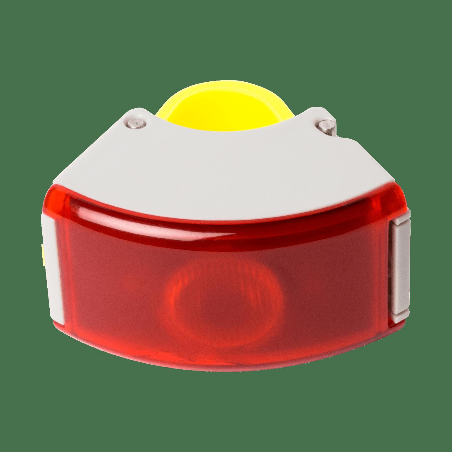 Bookman Curve 2 baglygte USB grå/gul | Rear lights