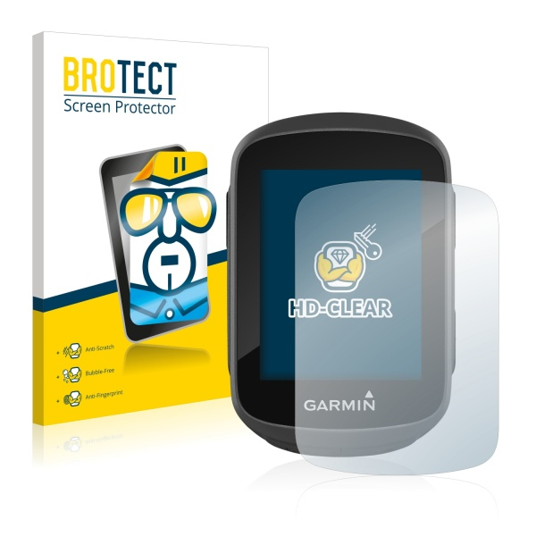 BroTect Skærmbeskyttelse Garmin Edge 130 | Cykelcomputere