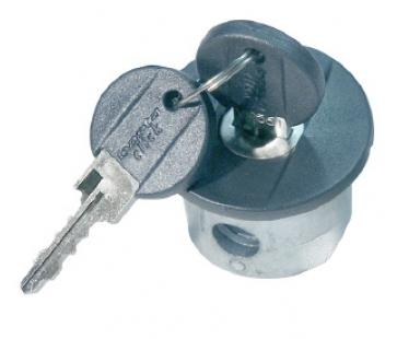 Låse cylinder click3 med dæksel til alu og stål | Bike locks