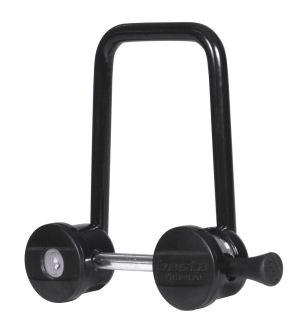 Lås Click3 MTB lige, sort | Bike locks