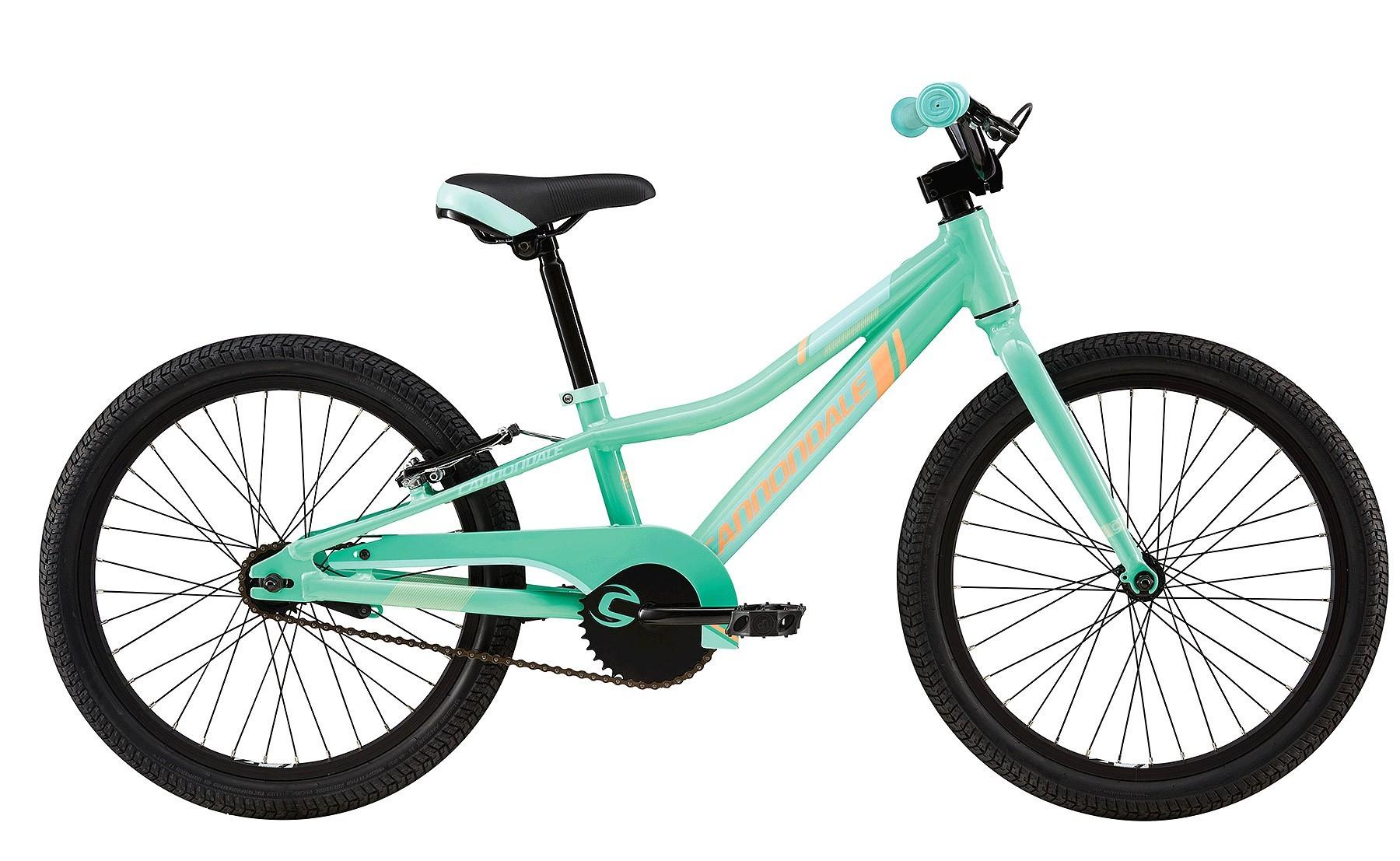 Cannondale Trail 20 singlespeed børnecykel mint   City-cykler