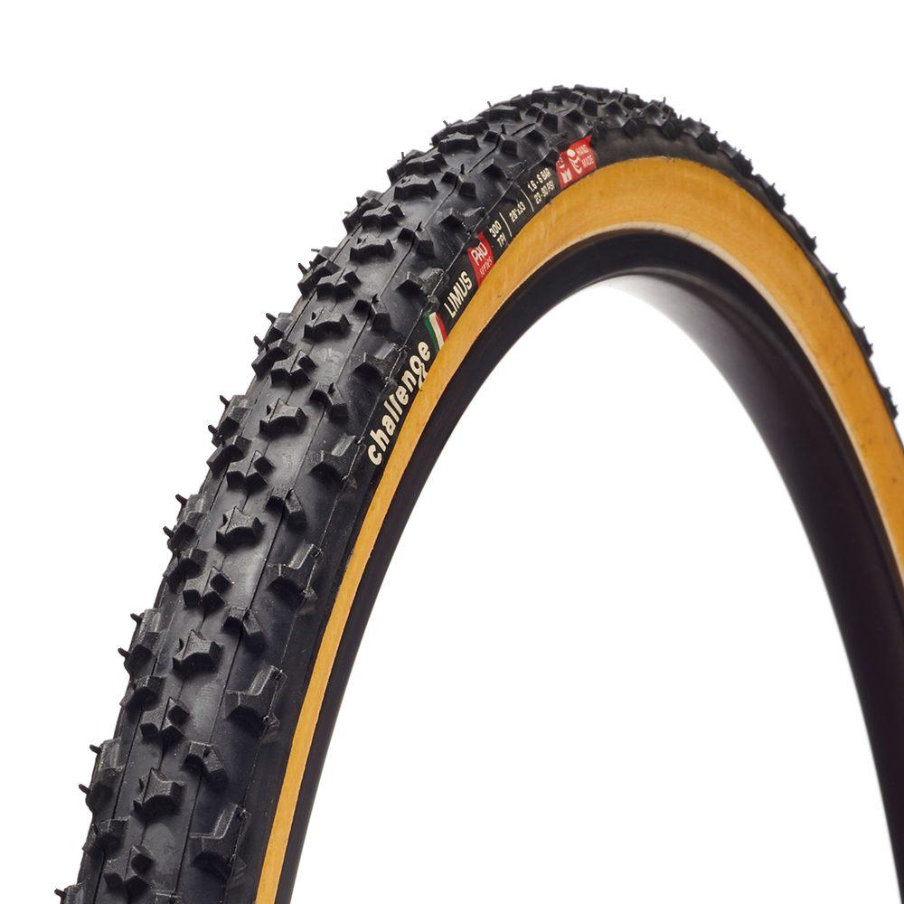 Challenge Limus Pro Clincher dæk til cross 700x33 Sort/Brun   Cross-cykler