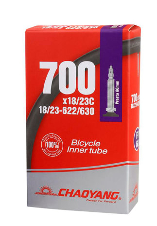 Chaoyang 700 x 18/23C Racerventil 80 mm | Tubes