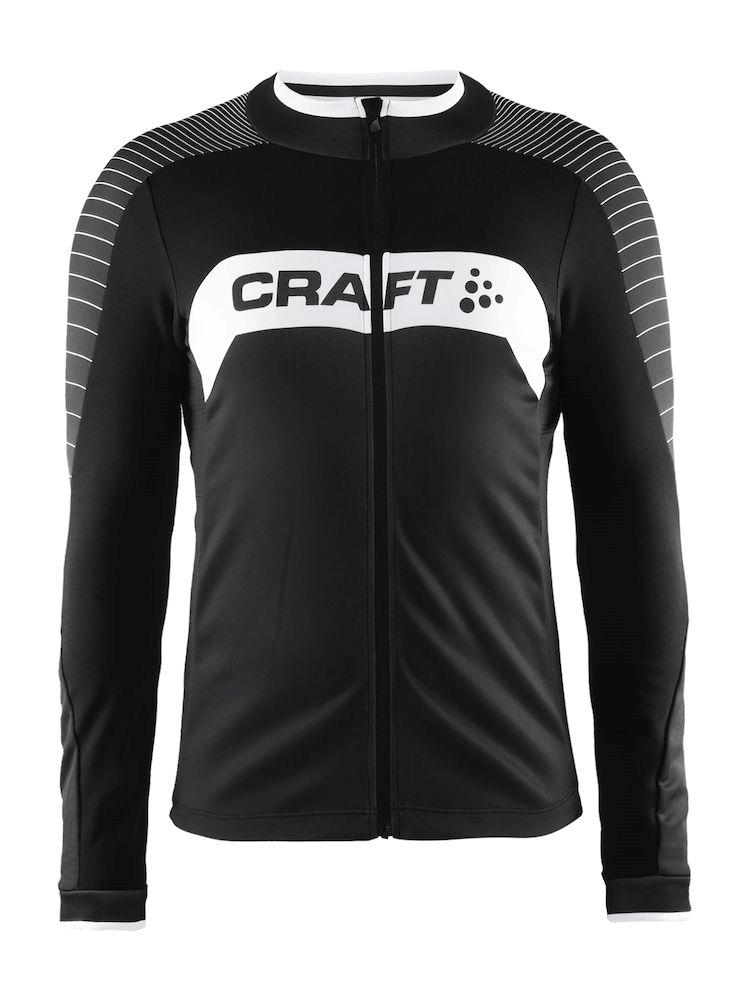 Craft Gran Fondo trøje med lange ærmer sort/hvid | Trøjer