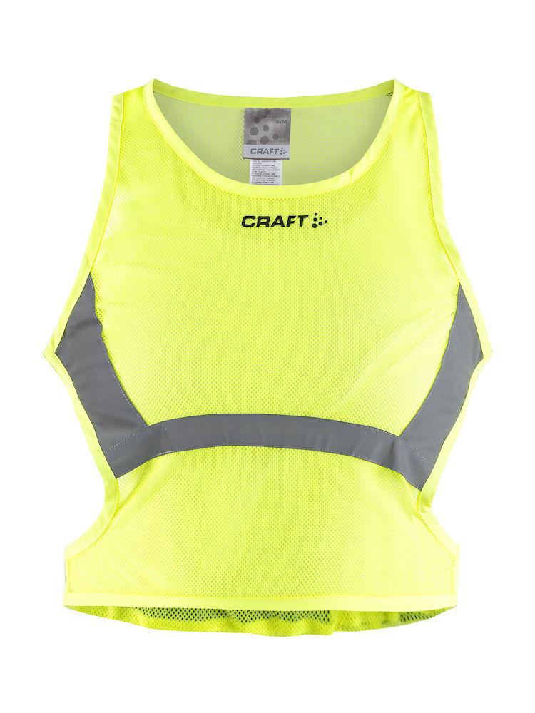 Craft All Year Mesh vest dame gul | Veste