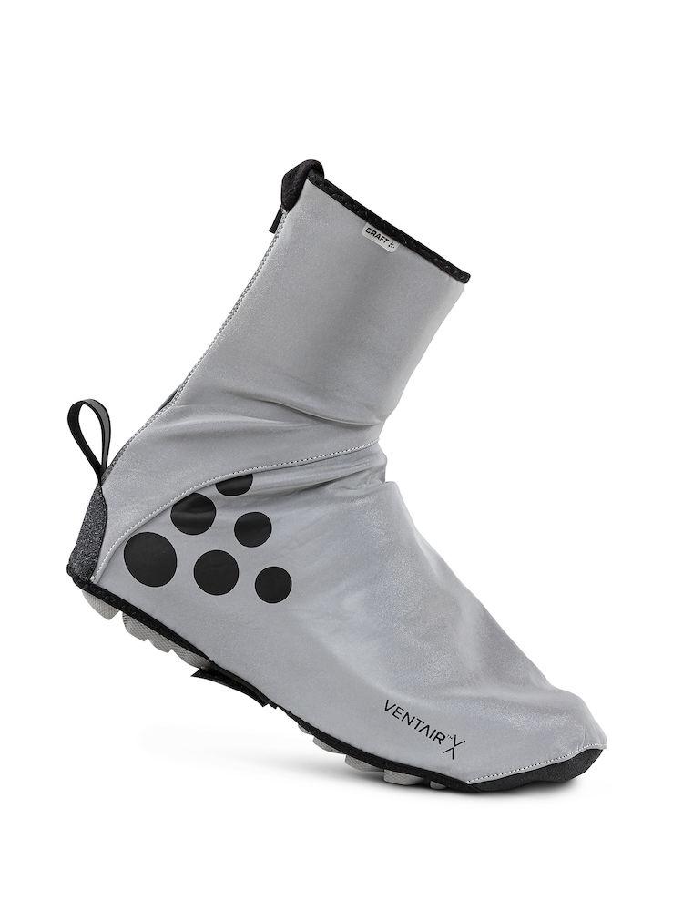 Craft Glow Bootie skoovertræk sølv/refleks/sort | Skoovertræk