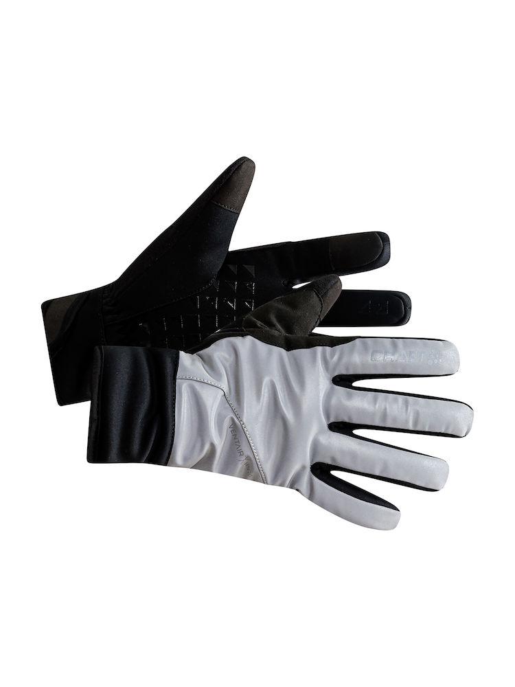 Craft Siberian Glow handsker sort/refleks | Handsker