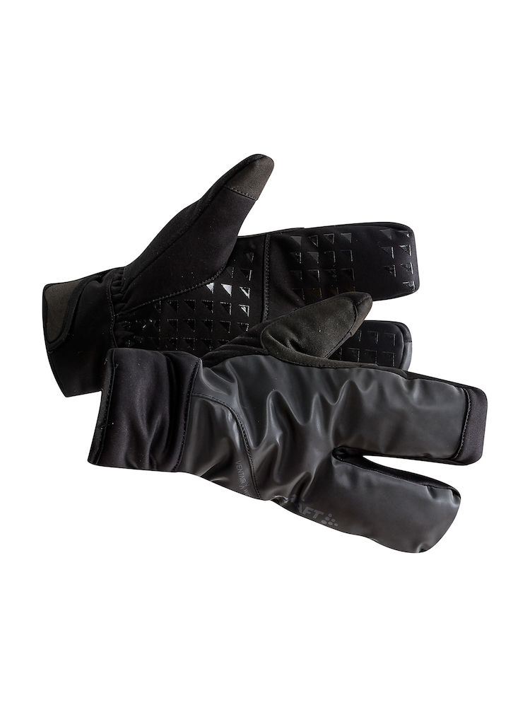 Craft Siberian Split finger handsker sort | Handsker