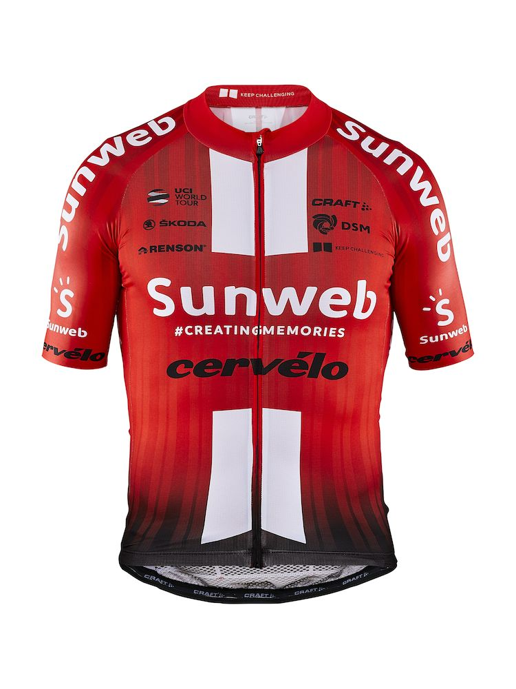 Craft Team Sunweb Aerolight Jersey Rød | Jerseys