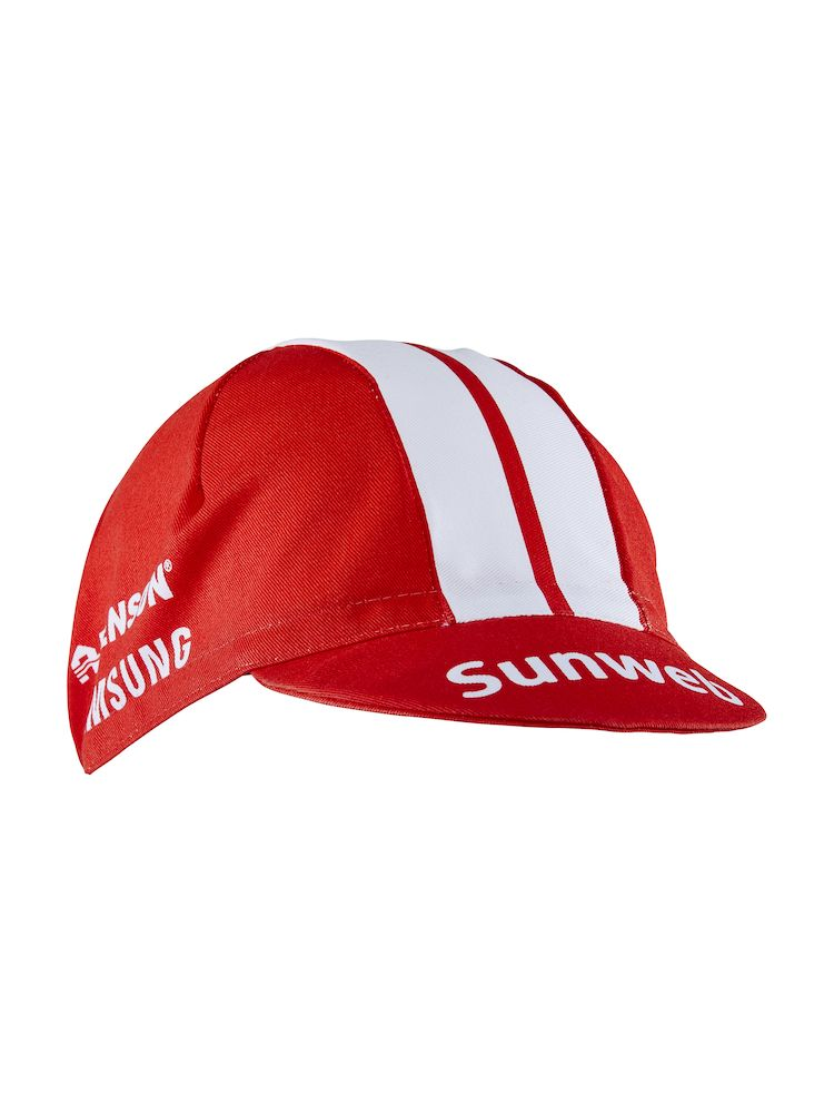 Craft Team Sunweb Bike Cap Rød