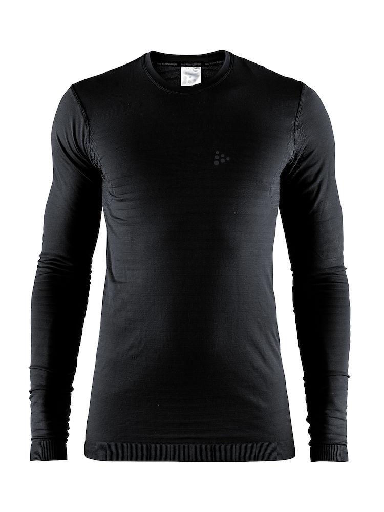 Craft Warm Comfort svedtrøje med lange ærmer, sort - 369,00 | Base layers