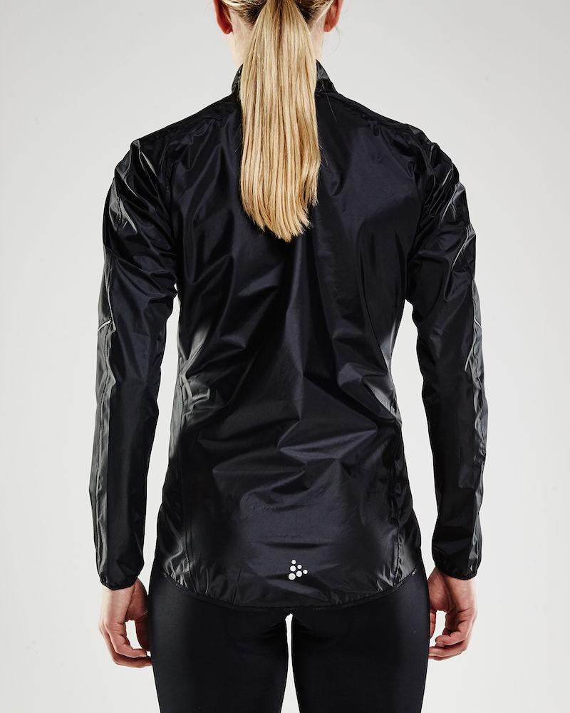 Craft mist regn jakke sort kvinde - 599,00 : Cykelgear.dk - Cykelgear.dk