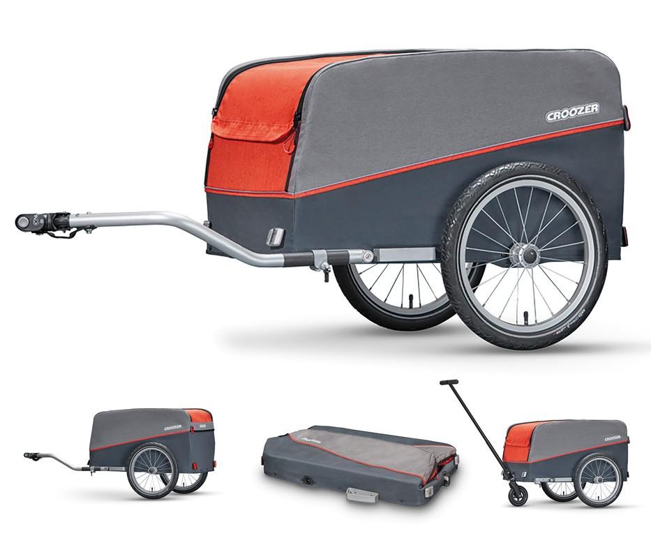 Croozer Cargo Trailer Campfire Red | bike_trailers_component