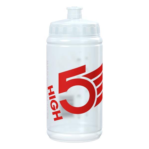 Cykelflaske 500ml klar high5   Drikkedunke